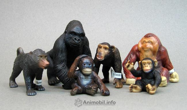 Schleich Young Orangutan