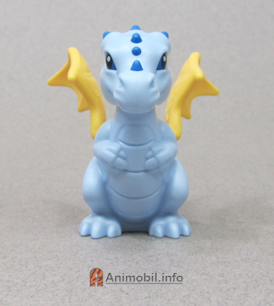 Dragon Baby 3 Light Blue