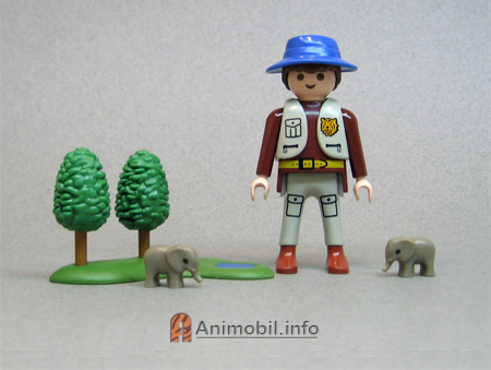 Elephant micro 2 for Playmobil kinderzimmer 4287