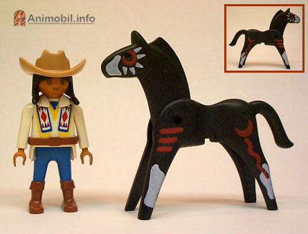 Horse Vers 1 Indian Black