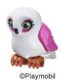 Owl White and Pink