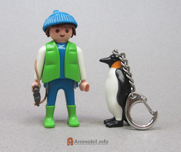 Emperor Penguin Key Chain