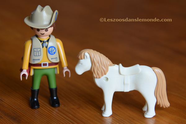 Pony White Brown Spotted 2