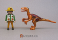 Deinonychus Orange