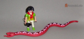 Snake Boa Constrictor 2 Red