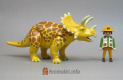 Triceratops Yellow