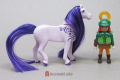 Horse Brushable Mane and Tail Violet